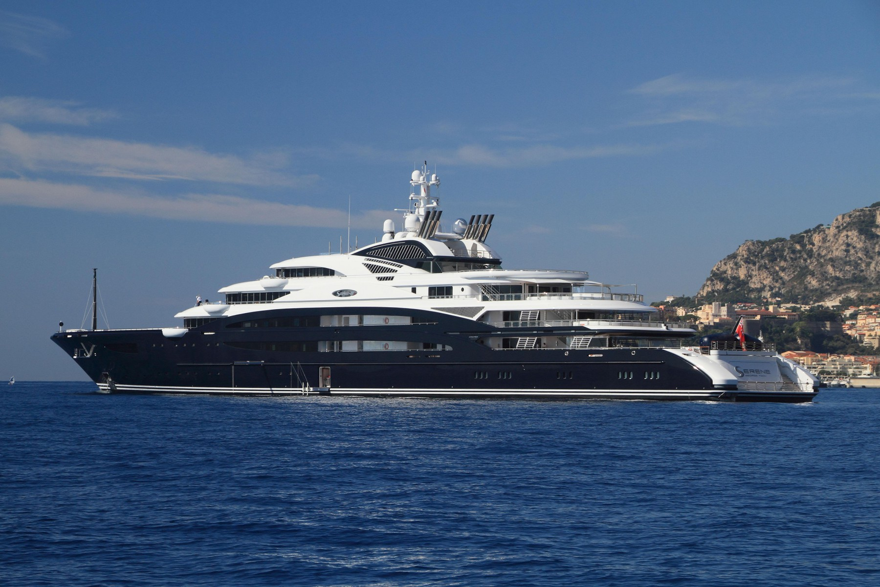 The Serene yacht owned by bin Salman is worth 380m