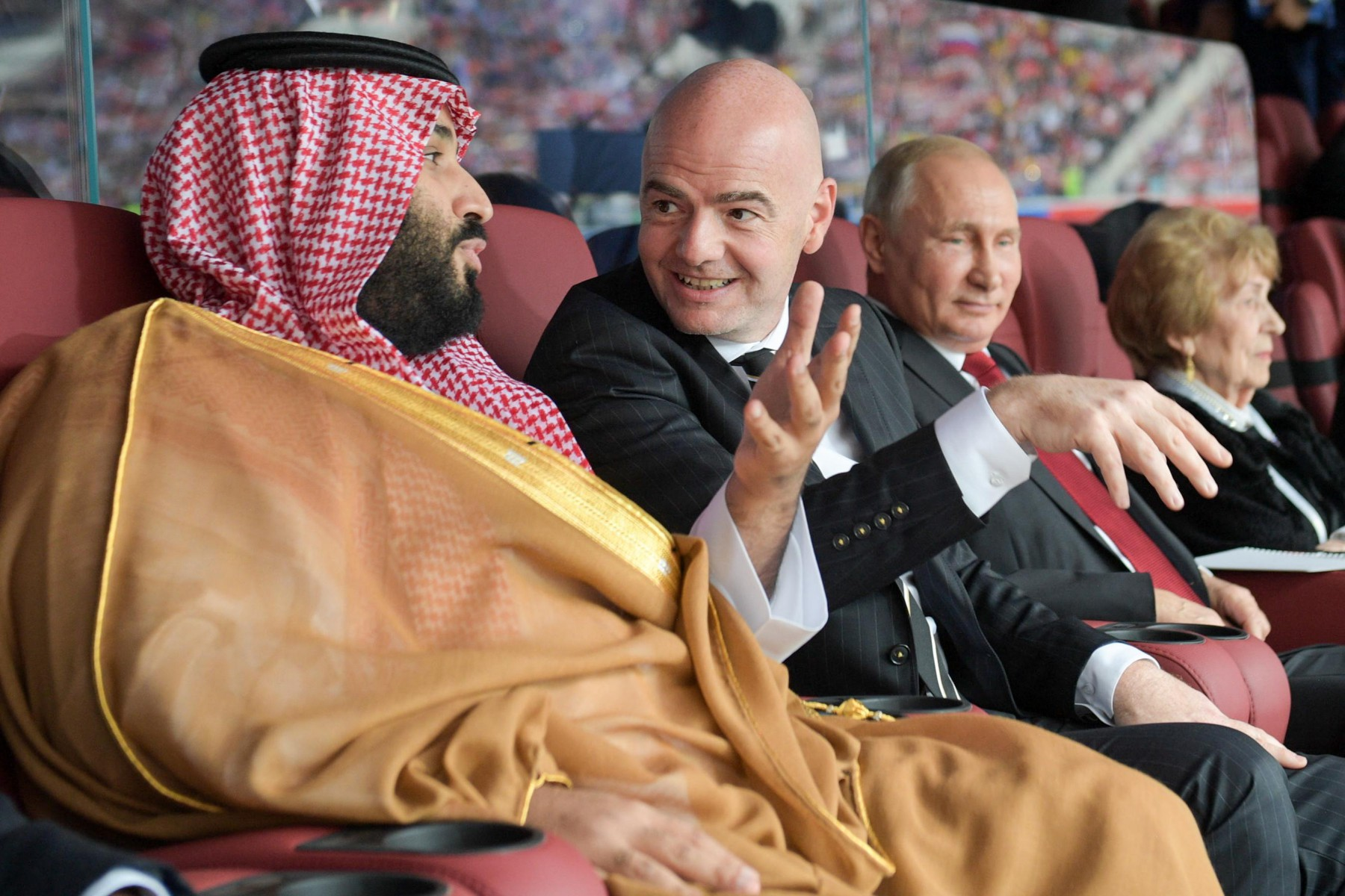 Football fan Mohammad bin Salman owns the world's most expensive home