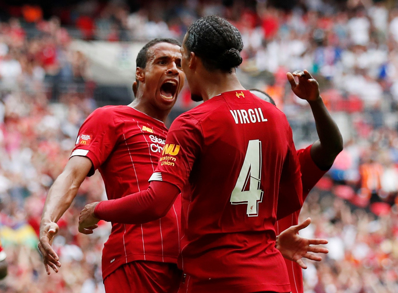 Joel Matip is currently the first-choice partner for Virgil van Dijk with Gomez frozen out