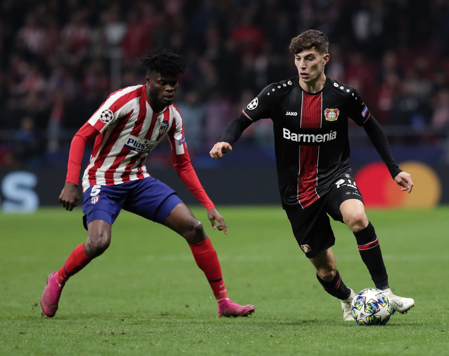 Havertz has been in fine form over the past 14 months, excelling for Bayer Leverkusen and breaking into the Germany team