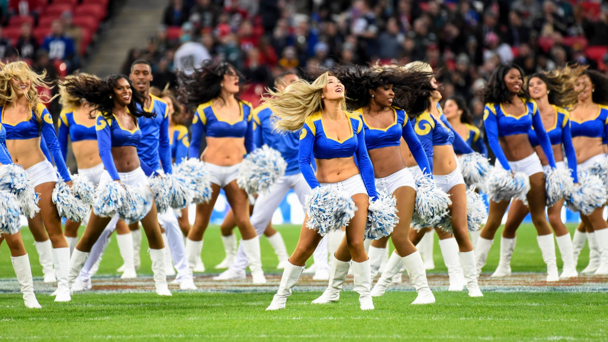 It was the first game of the current NFL season held at Wembley with another one next weekend