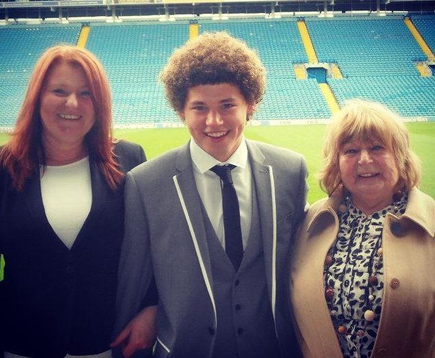 At 14 Phillips was scouted by Leeds