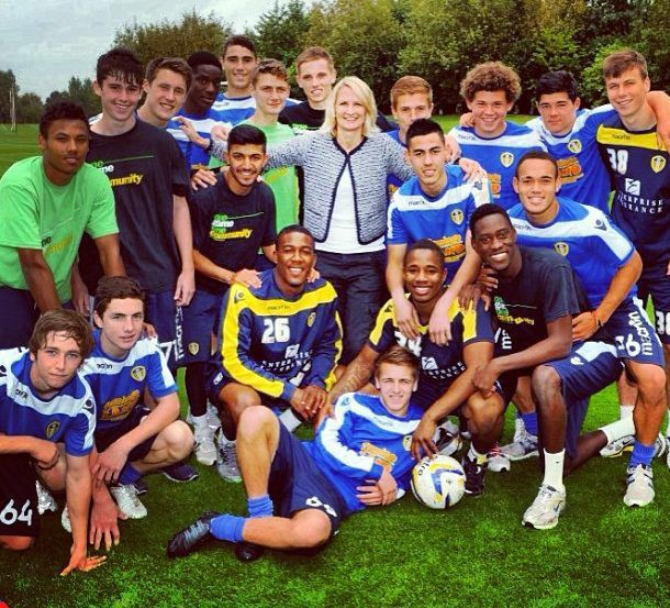 In Leeds youth teams Phillips excelled at the Thorp Arch academy