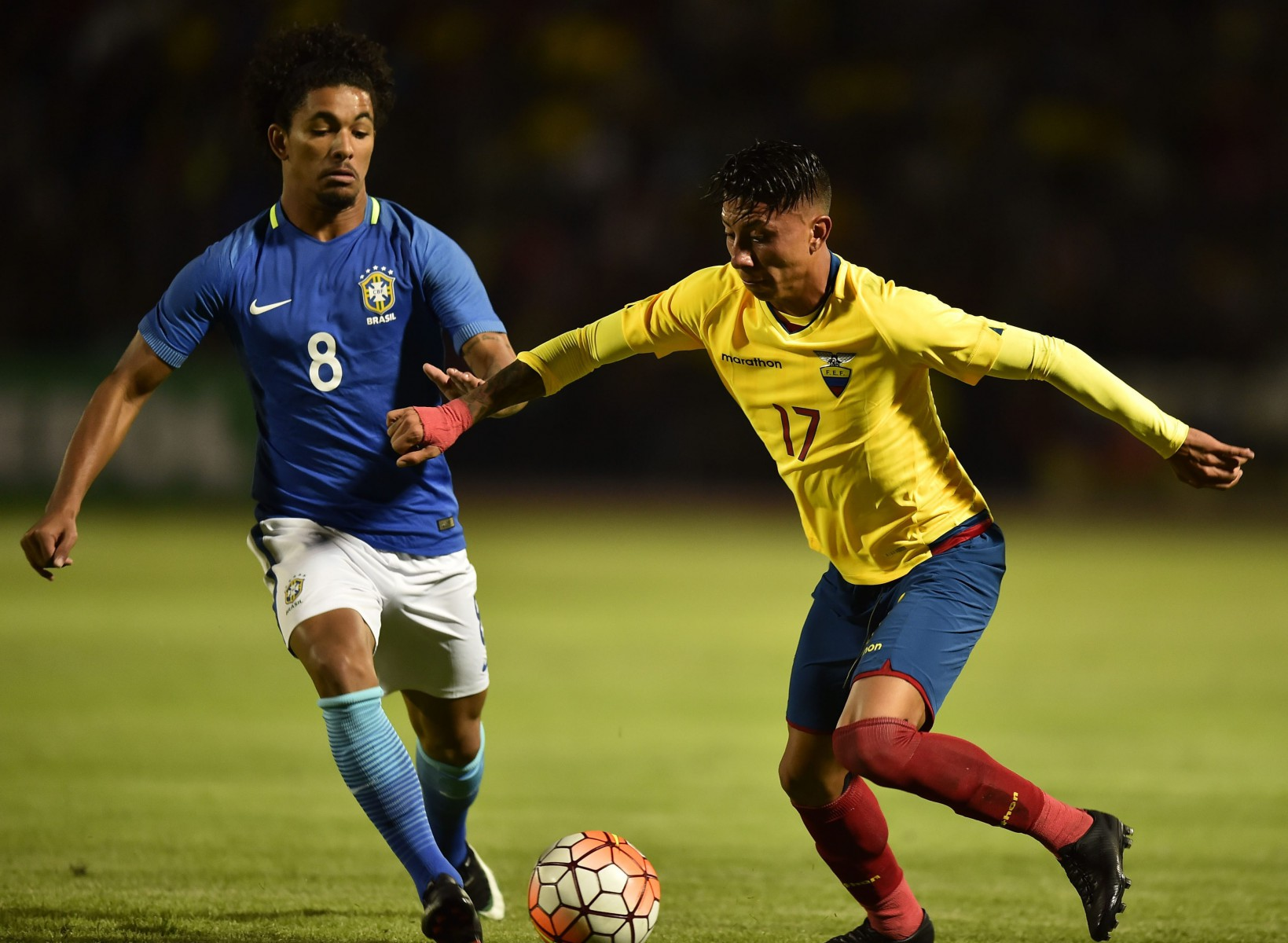 Brazil star Douglas Luiz is highly thought of in his own country