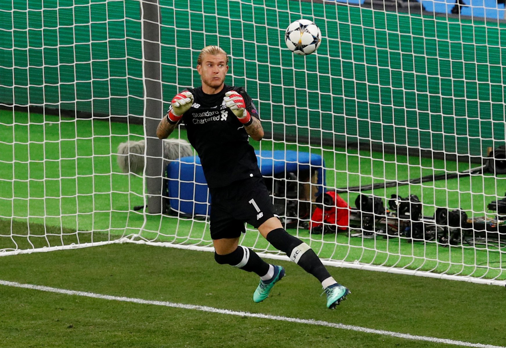 Karius was sent out on a two-year loan to Besiktas after his Champions League final nightmare
