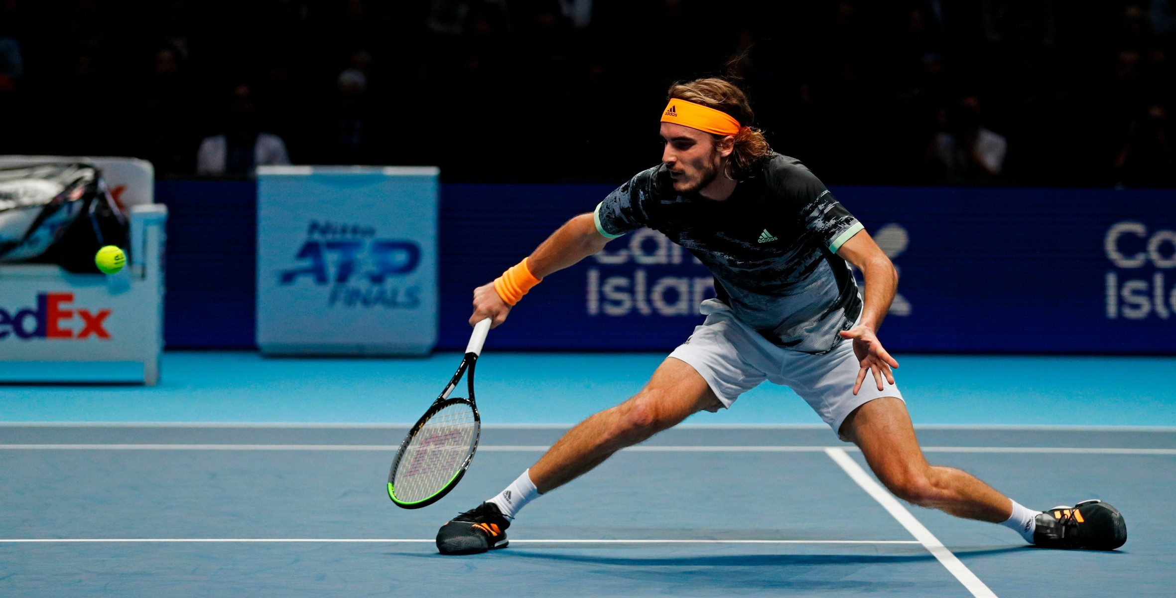 Tsitsipas performed excellently throughout and admitted the win meant an awful lot