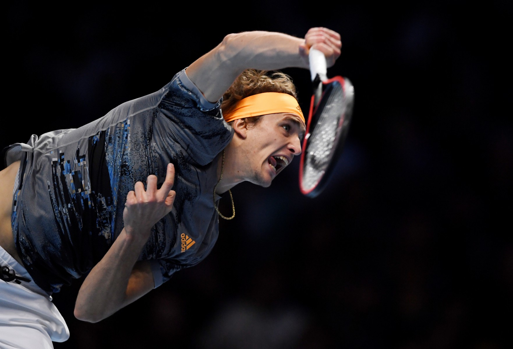 The reigning ATP Finals champion served brilliantly throughout and did not give Nadal a sniff when returning