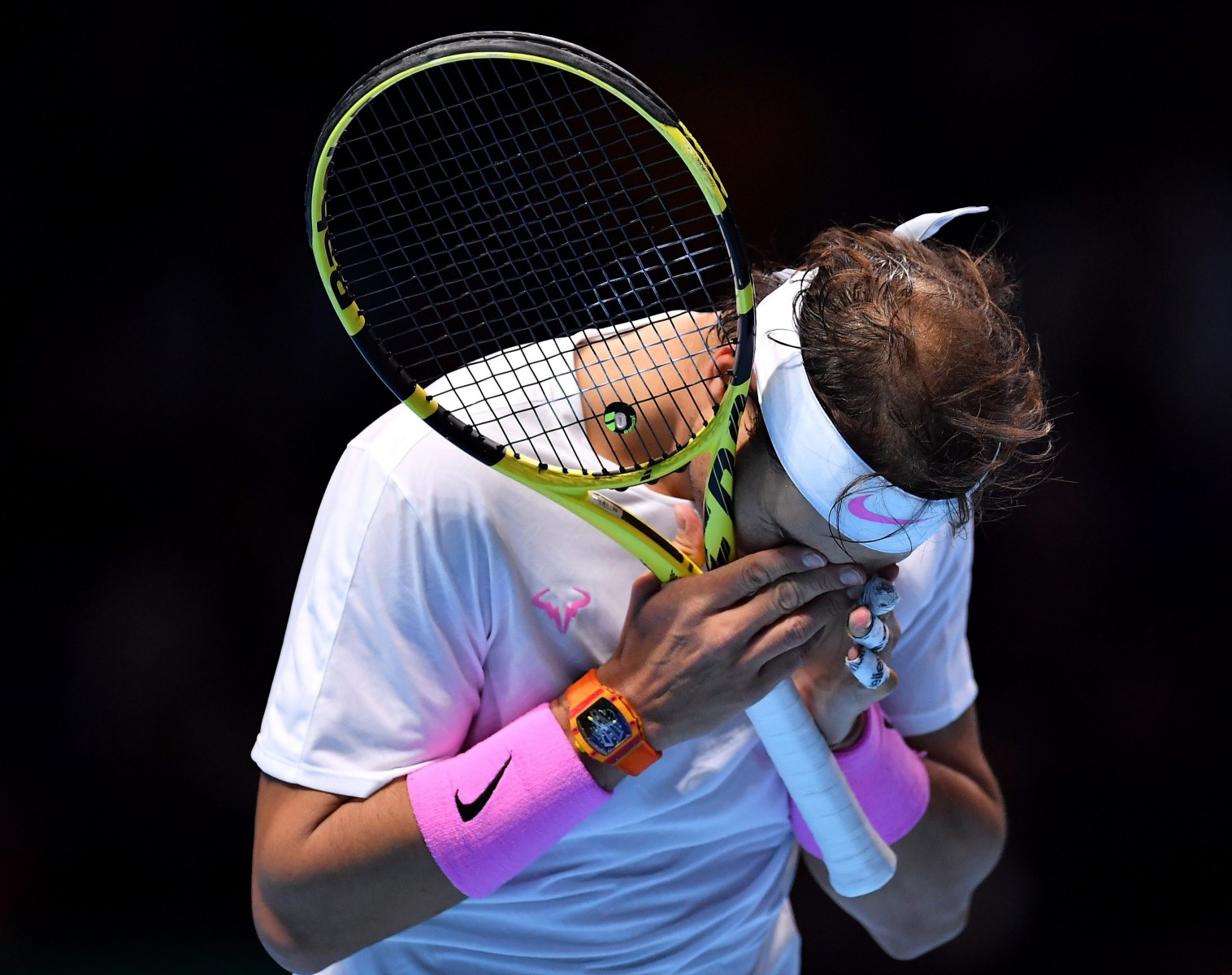 Nadal had struggled with an abdominal strain coming into the tournament and looked off the pace throughout