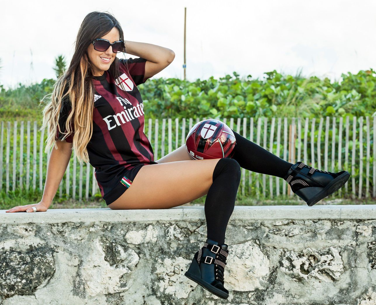 Claudia Romani has been called the sexiest referee in the world