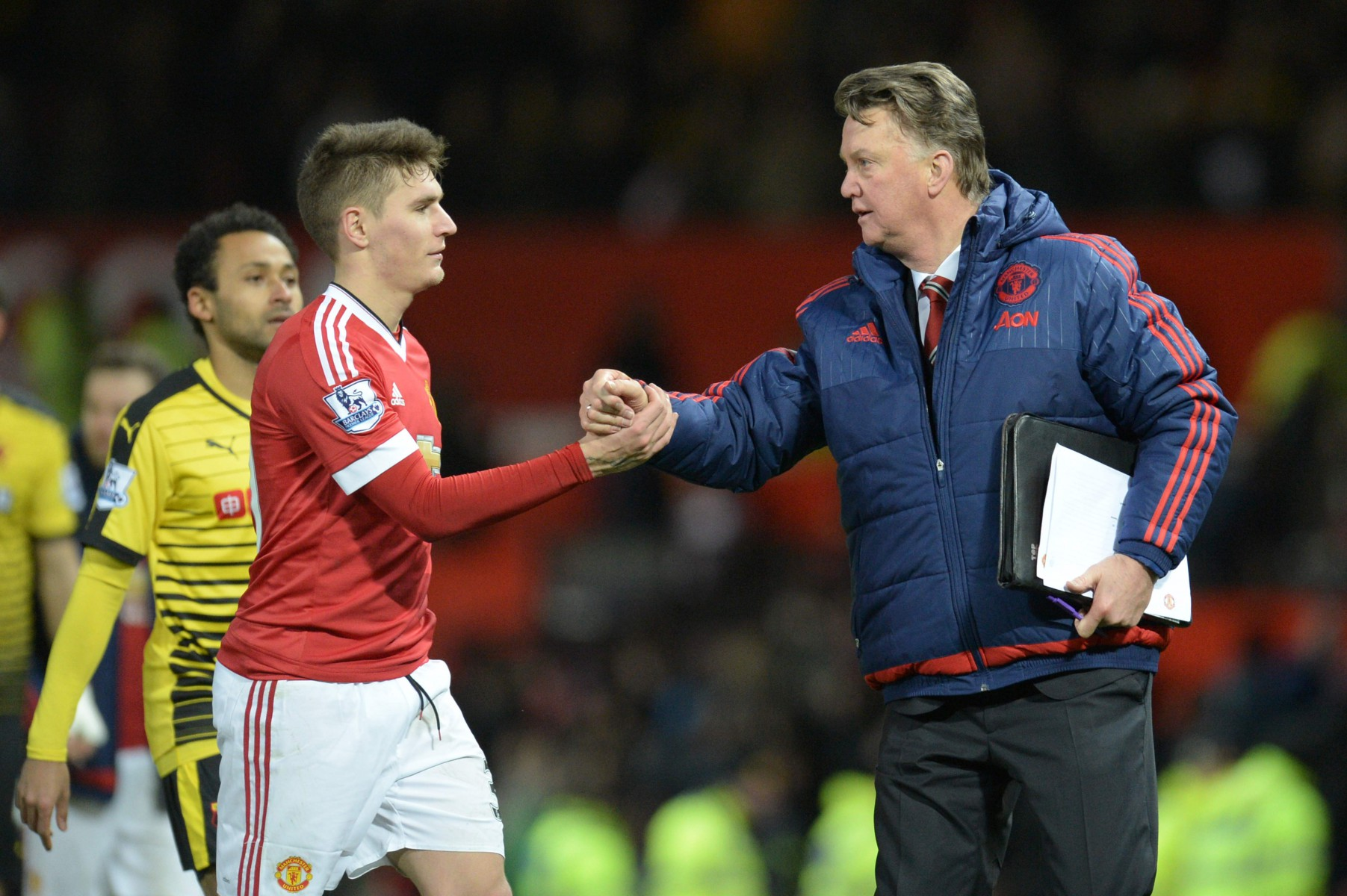 Varela will always be grateful for 'crazy' Louis van Gaal who gave him his 11 United appearances