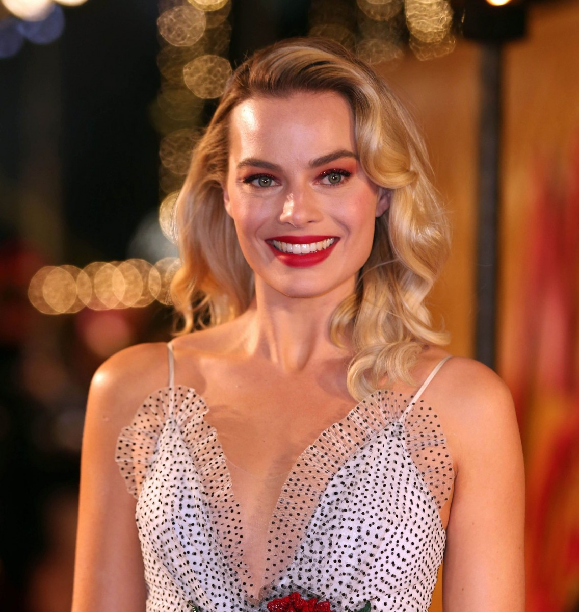Hollywood star Margot Robbie got a love for football after living in London