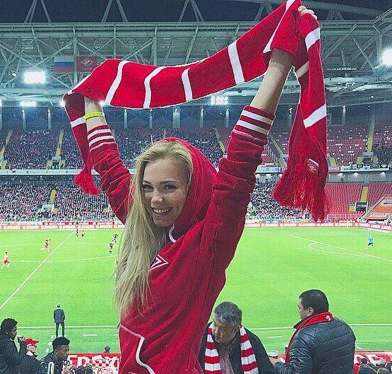 Martynova attends every Spartak home game