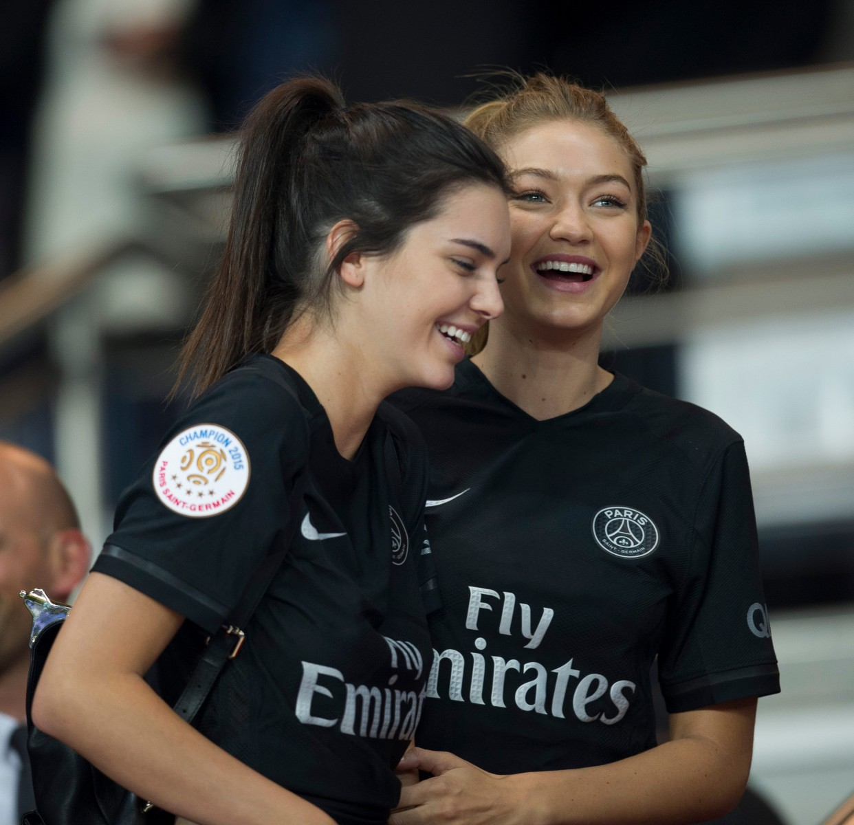 Kendall Jenner and Gigi Hadid often watch PSG when they are in town for Paris Fashion Week