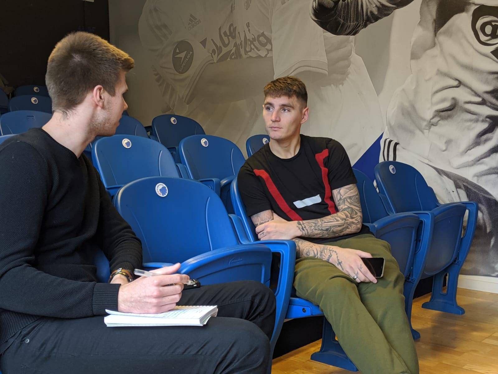 Varela sat down with SunSport reporter Joshua Jones at the FC Copenhagen training ground