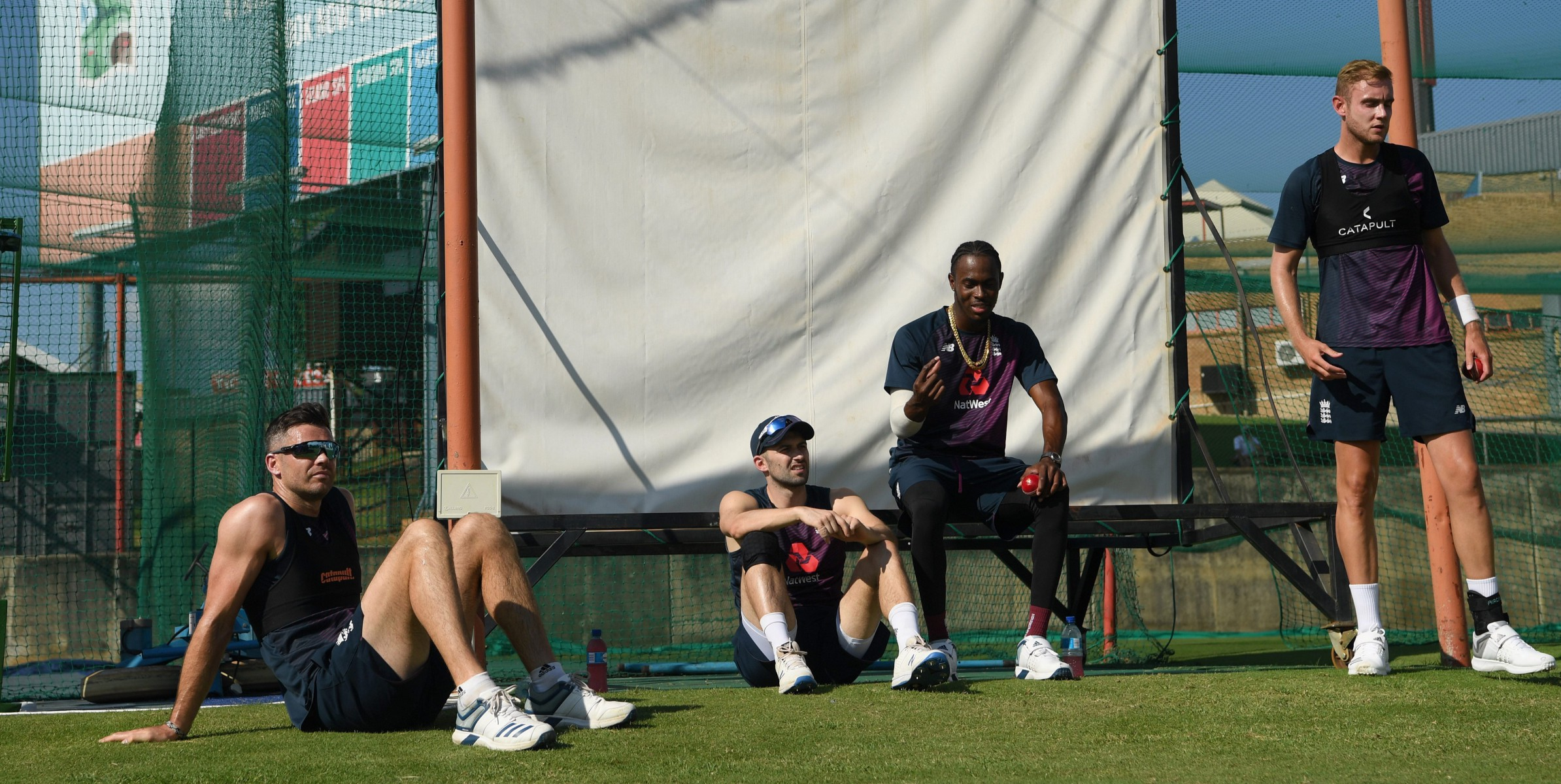 Jofra Archer and Co relax in in training, ahead of the First Test against South Africa, starting on Boxing Day