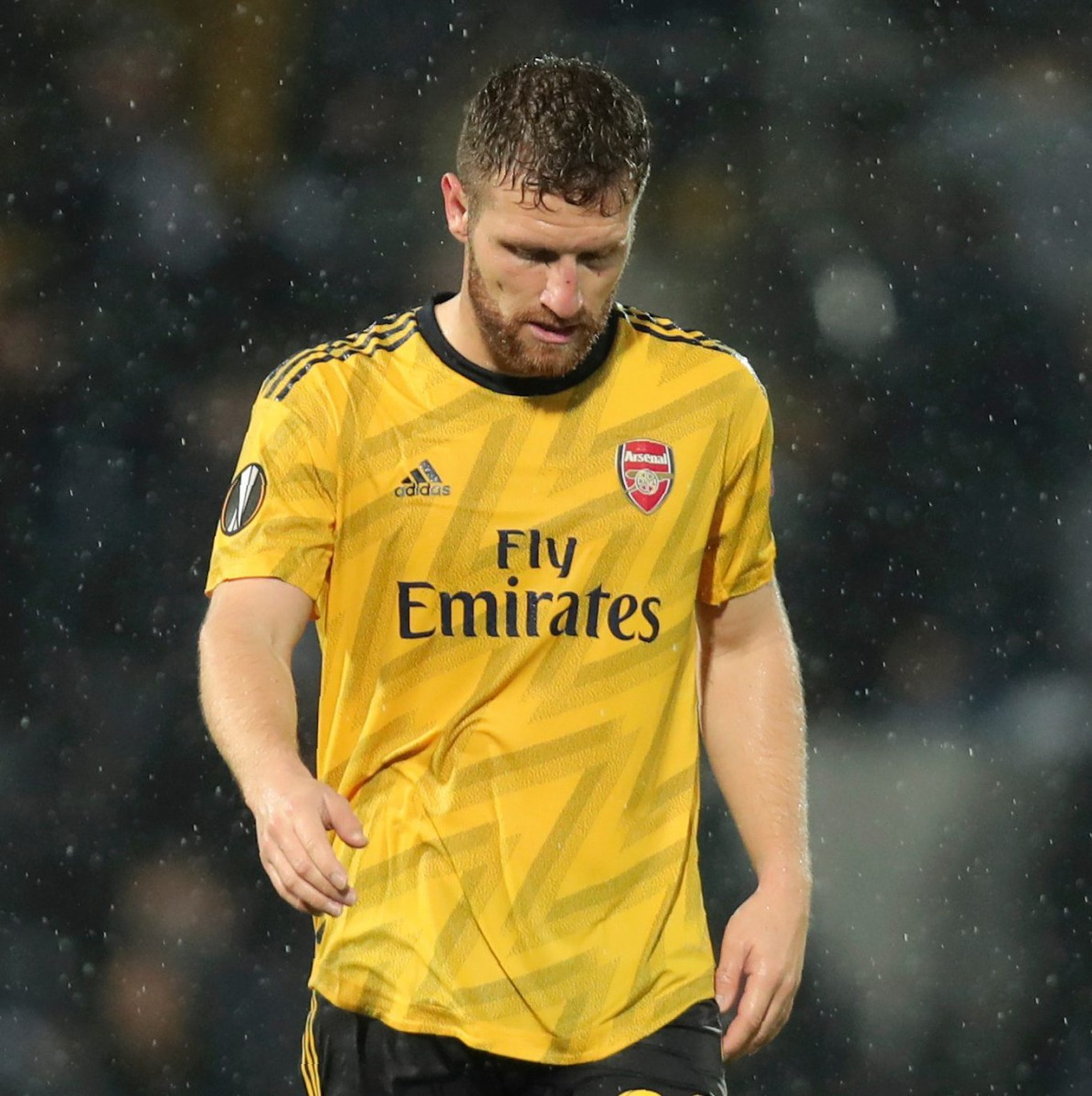 The German has played just ten matches for the Gunners this season