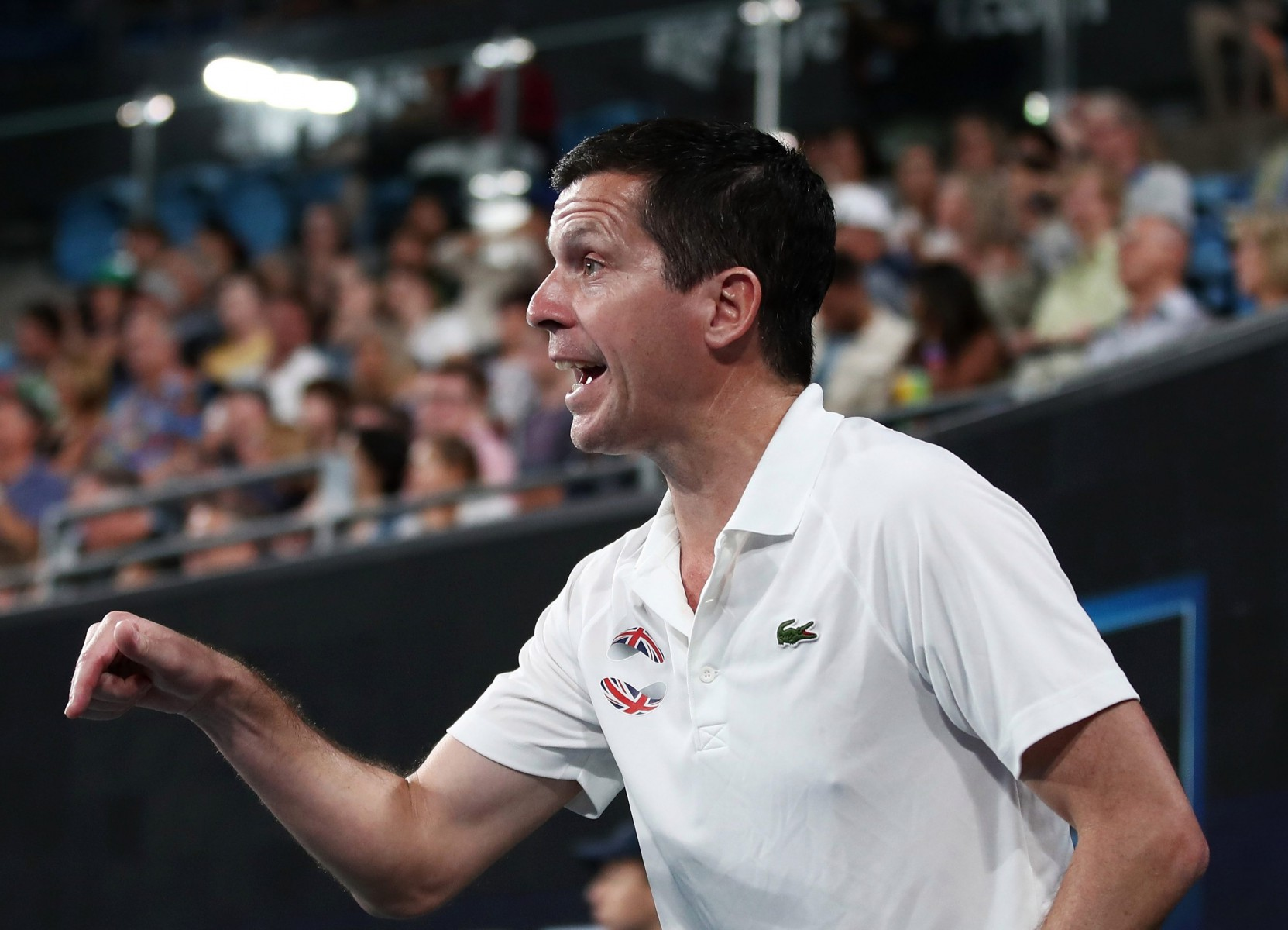 Tim Henman is captaining the British team in the inaugural edition of the ATP Cup, staged across Australia