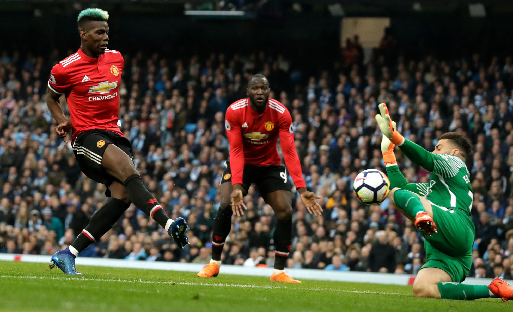 Arguably his best performance in a Red Devils shirt came in the 3-2 win over Manchester City in April 2018