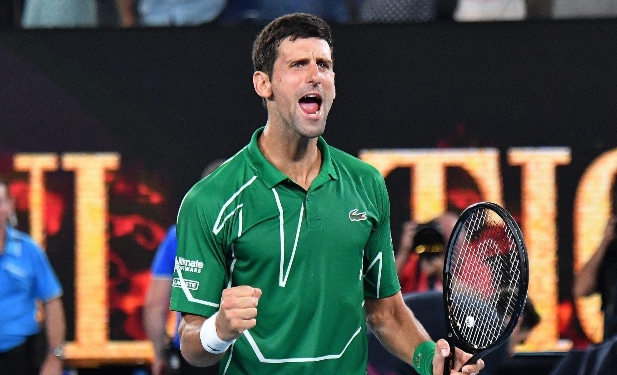 Thiem Djokovic Live
