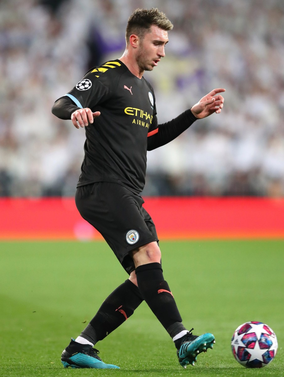 Aymeric laporte could be out for weeks if he has suffered a hamstring injury
