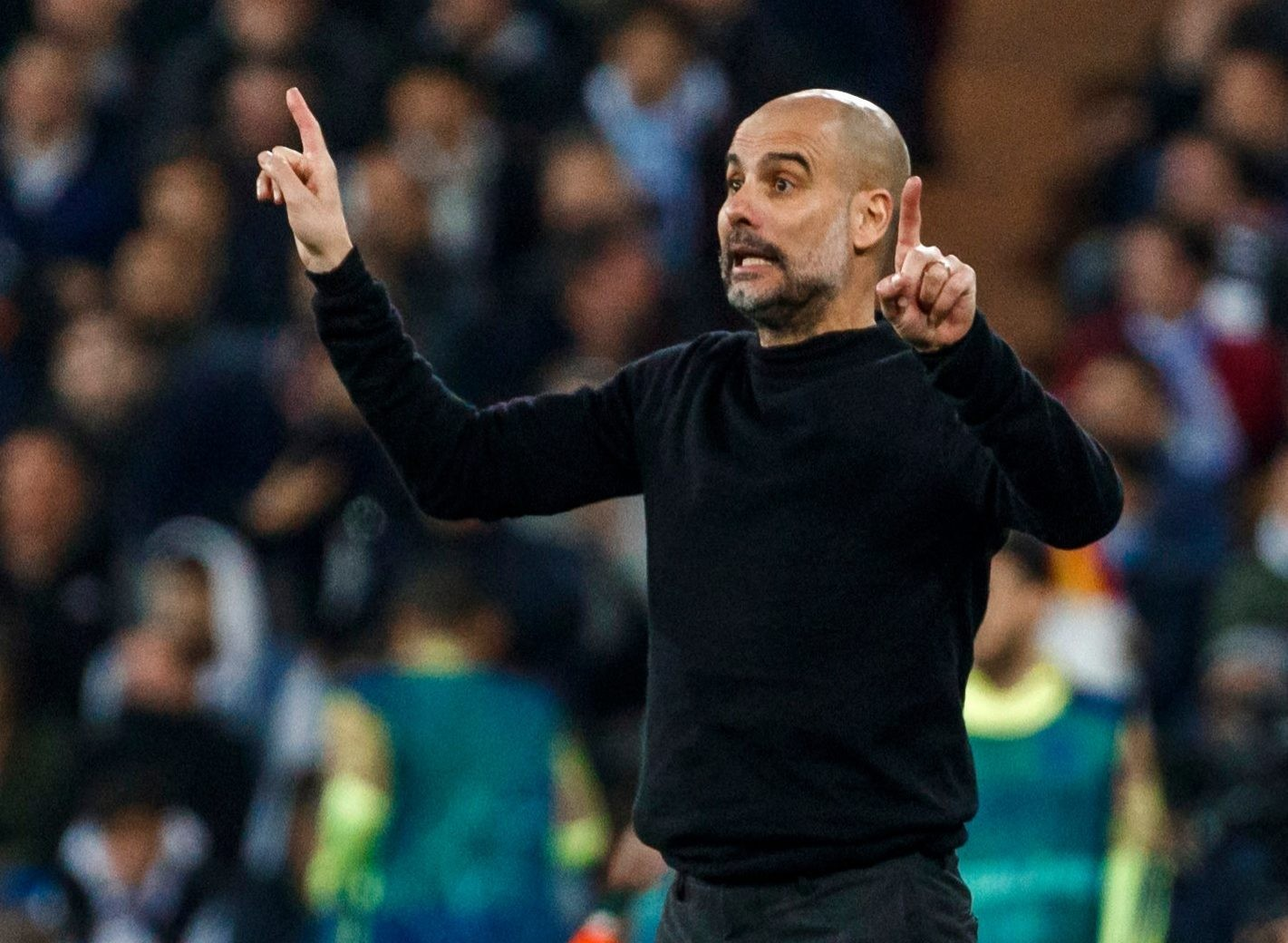 Etihad chief Pep Guardiola admitted Aymeric Laporte is a worry after his brief outing in the 2-1 victory at Real Madrid