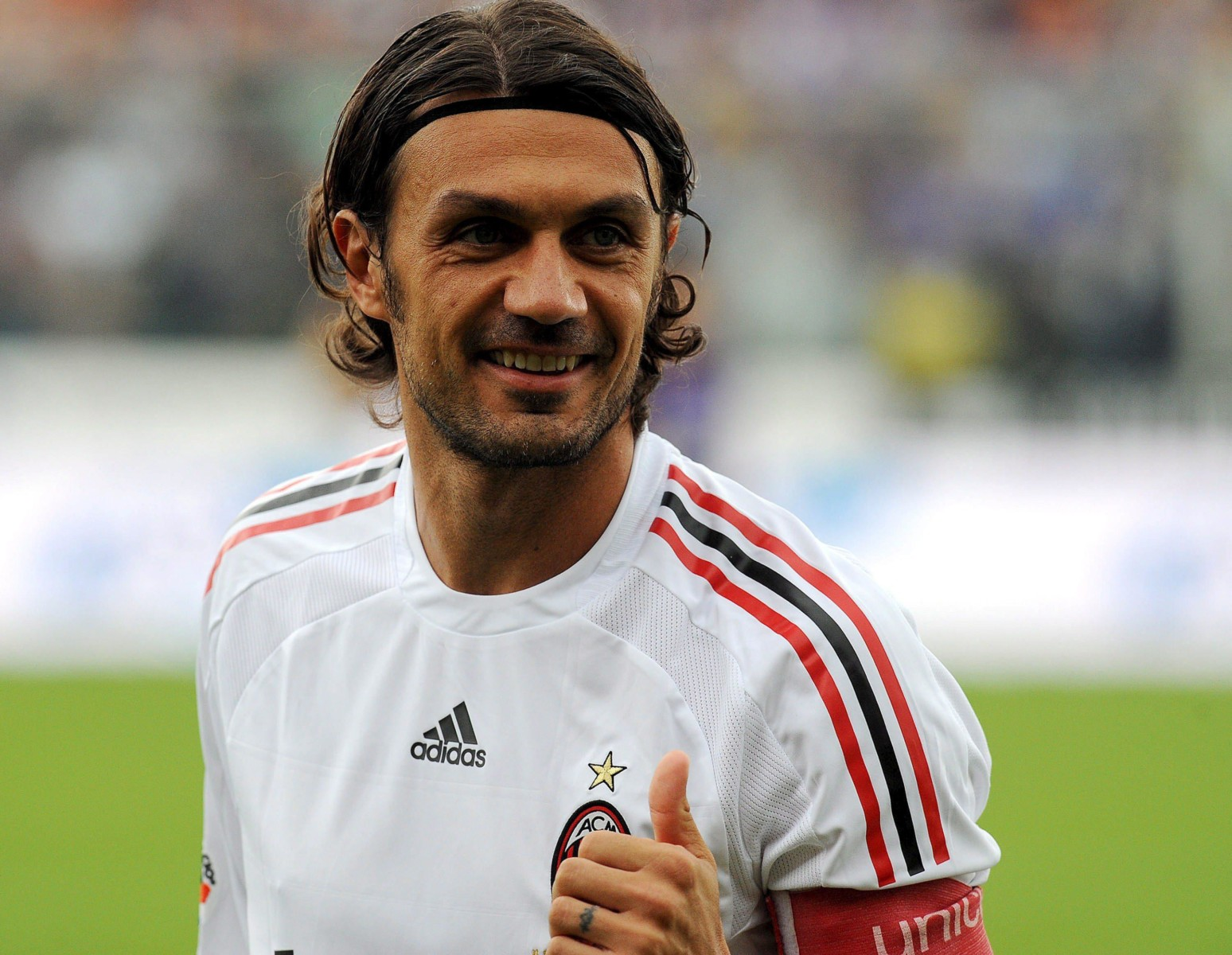 Paolo Maldini played for AC Milan for 25 years