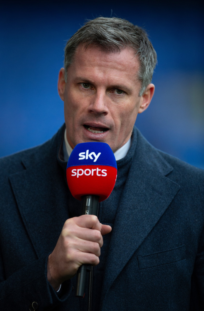 Carragher is enjoying his work as a pundit for Sky Sports and is not interested in going into management