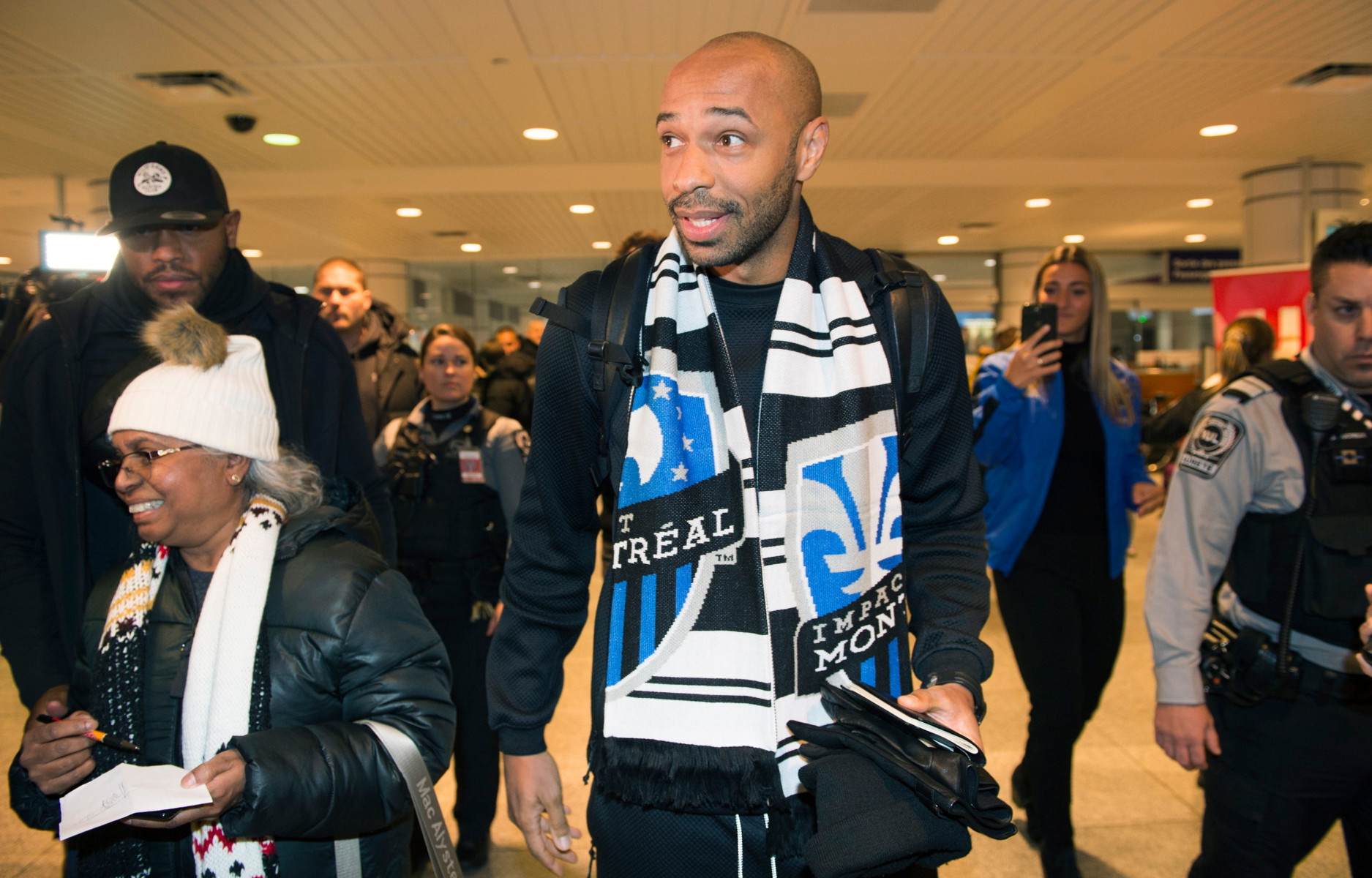 Henry headed back to the MLS in November to take over as the boss at Montreal Impact