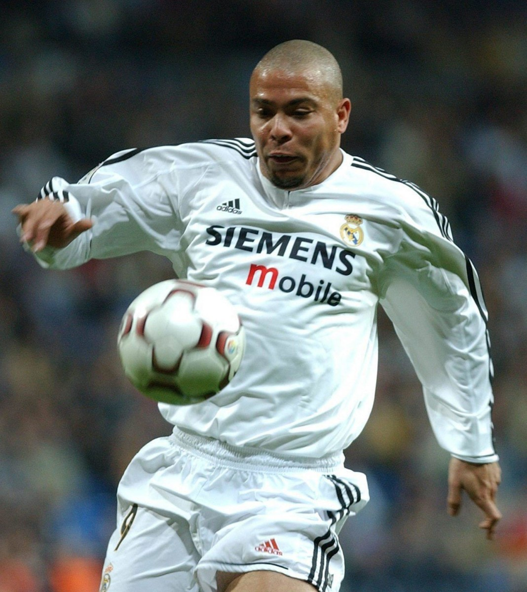 Ronaldo never won the Champions League with Real Madrid