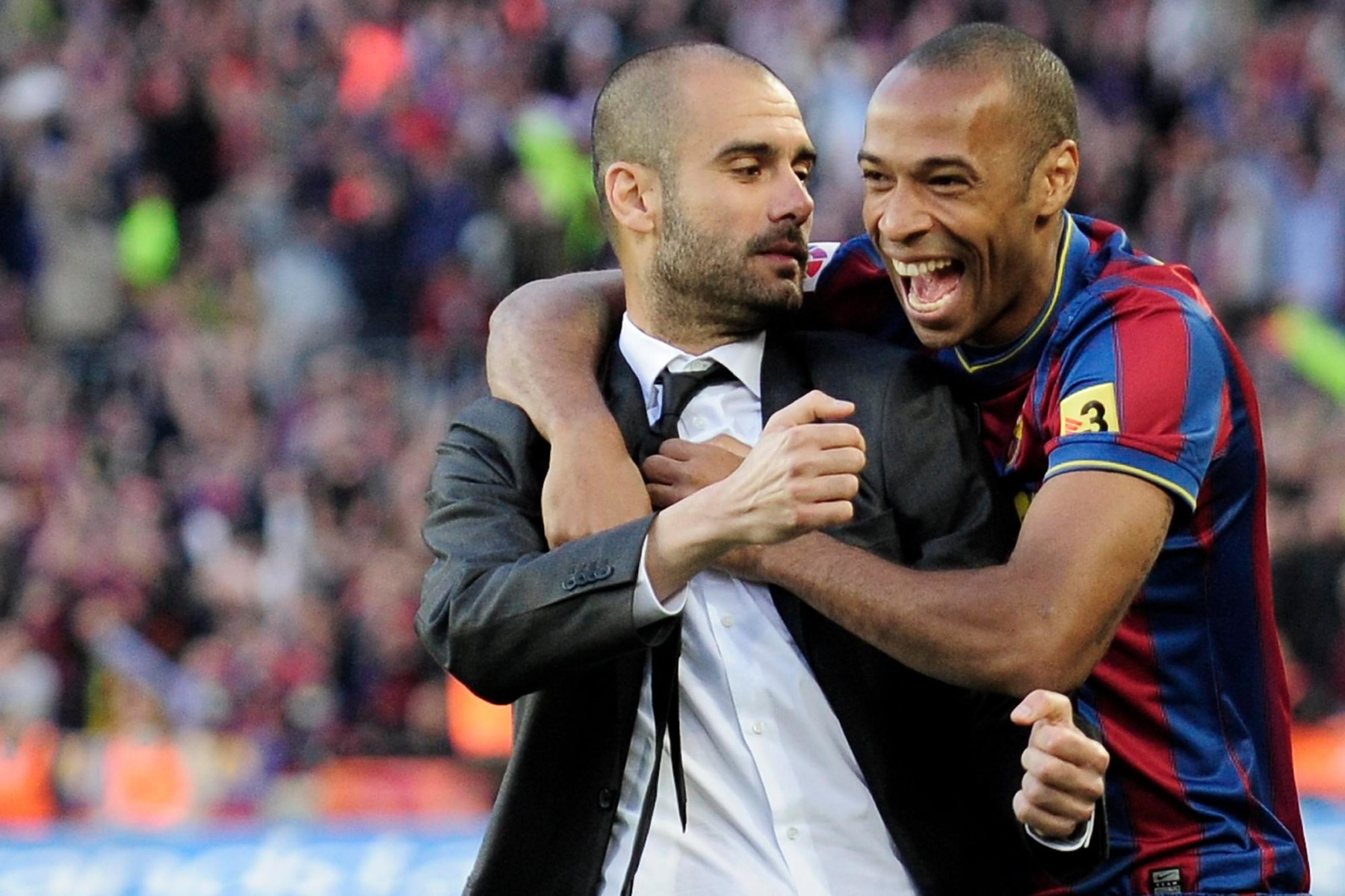 Thierry Henry won the Champions League with Barcelona