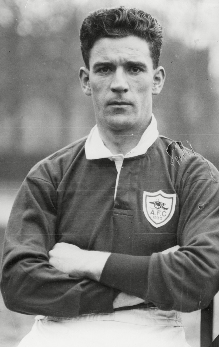David Halliday was involved in two 12-goal matches with Leicester City - scoring four for Arsenal in 1930 and managing the 8-4 win over Manchester City in 1958