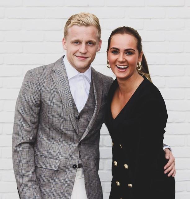 Dutch star van de Beek dates Dennis Bergkamps daughter Estelle