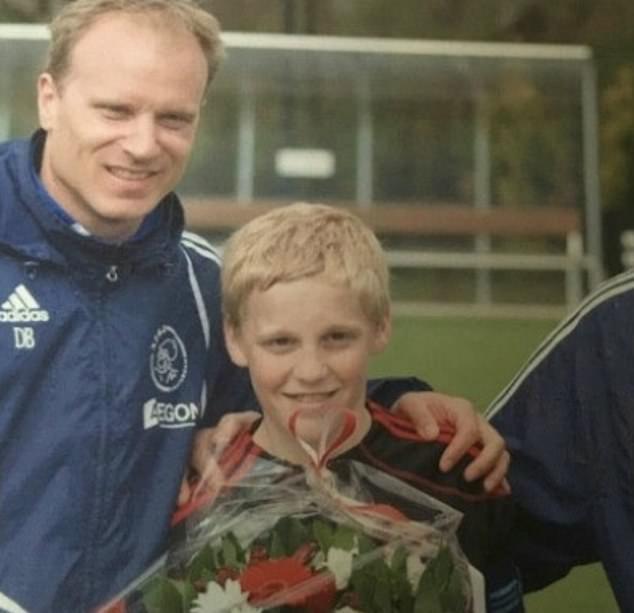 Bergkamp coached van de Beek when he was 10