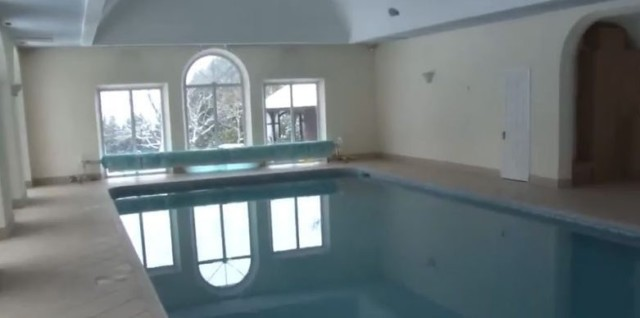 The leisure complex features a pool Hearns stable of fighters and staff take advantage of