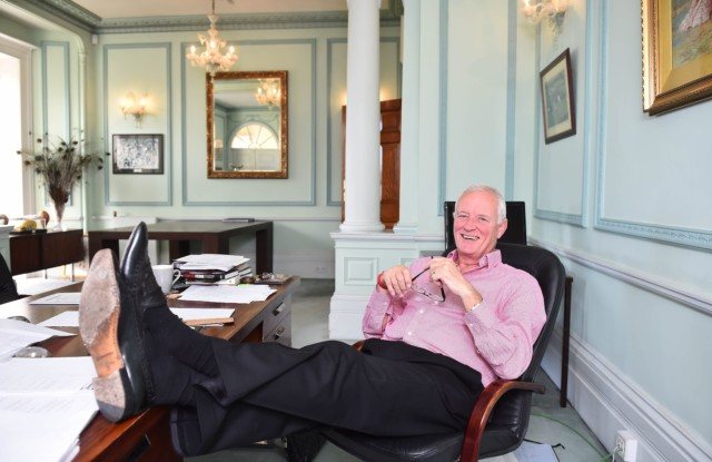 Barry Hearn came from a Dagenham council estate before he made his millions