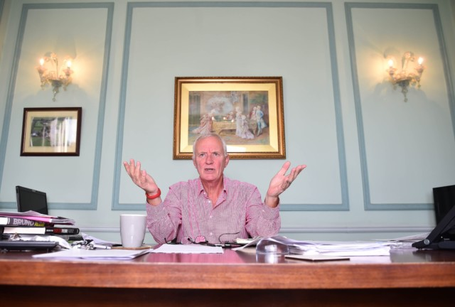 Eddies dad Barry Hearn bought the property for £200,000