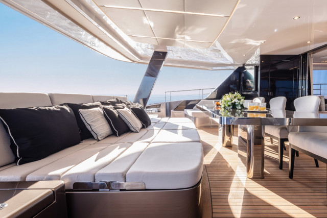 No expense was spared in the craftmanship of this yacht