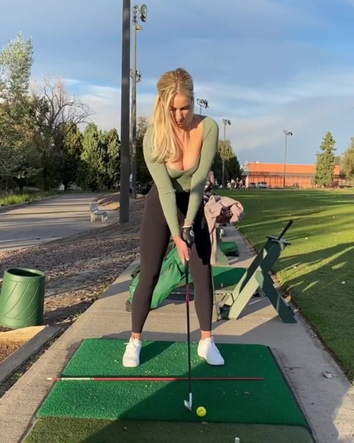 Paige Spiranac would rather have a golf trip with mates over a fantasy threesome
