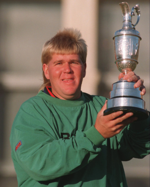 Daly won the 1995 Open and was known for his exciting style of play