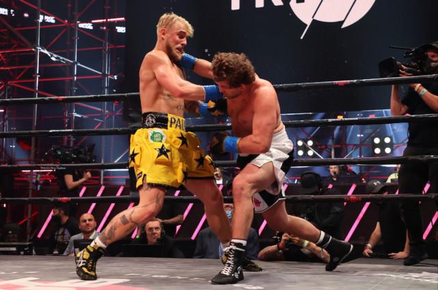 Jake Paul landed a one-two to KO Ben Askren