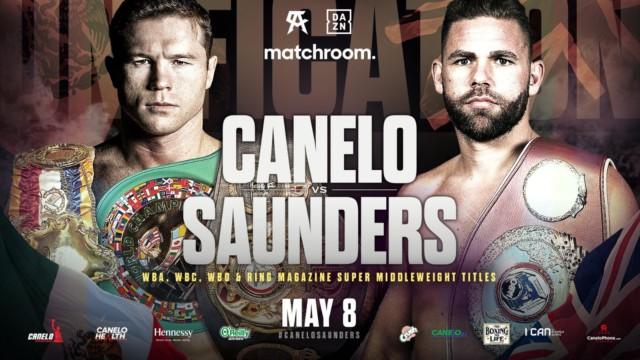 Billy Joe Saunders will face Canelo Alvarez a week on Sunday