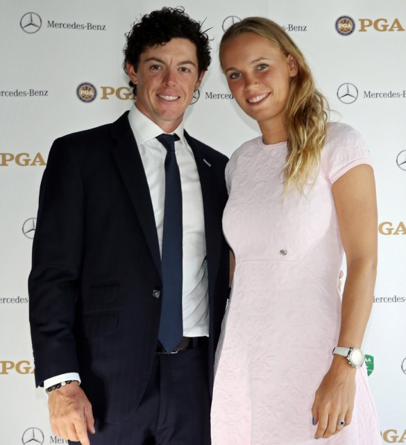 McIlroy was living at the house in Northern Ireland when he met tennis star Caroline Wozniacki