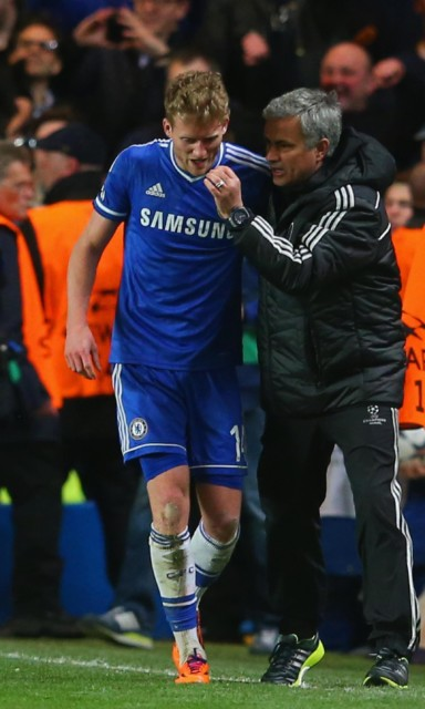 Andre Schurrle says he still gets on well with his and Chelsea's former boss Jose Mourinho