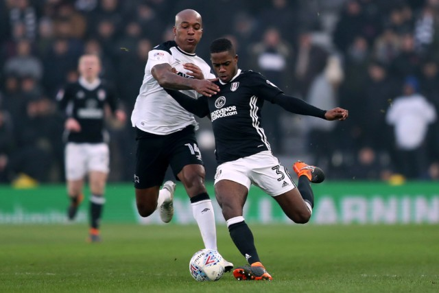 Andre Wisdom has been playing in the Championship with Derby since 2017