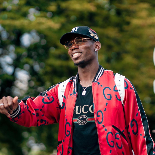 World Cup winner Paul Pogba has shot to global fame since joining Manchester United