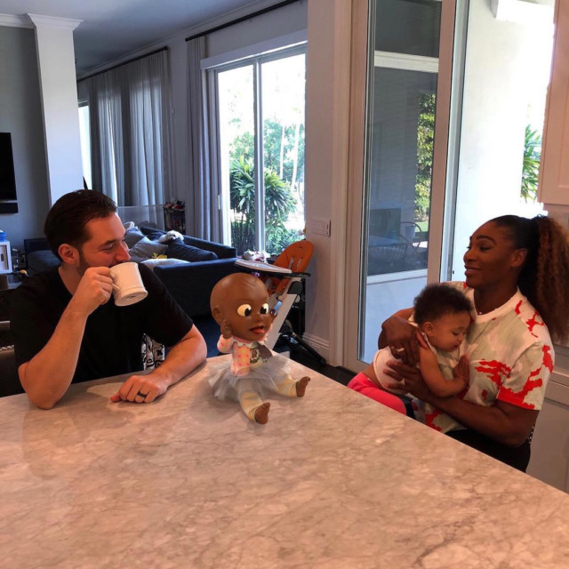 Williams often shares pictures with husband Alexis Ohanian and their daughter, also called Alexis, online