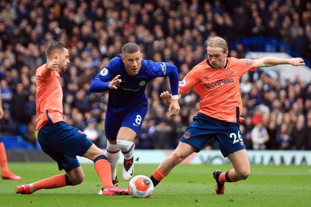 Ross Barkley moved to Chelsea in 2018 for £15million