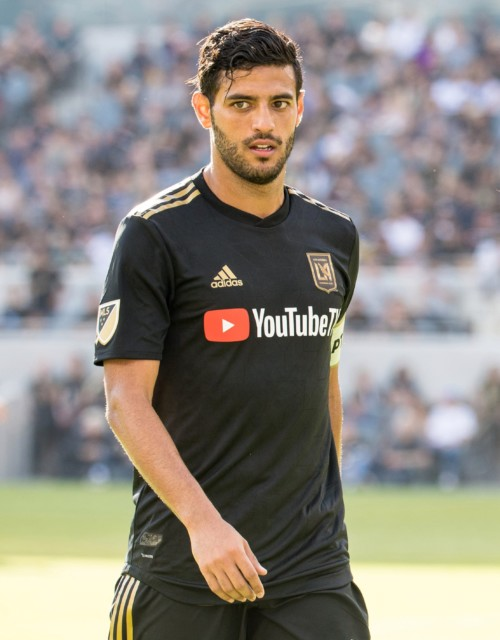 Vela is now one of the stars of MLS for Los Angeles FC