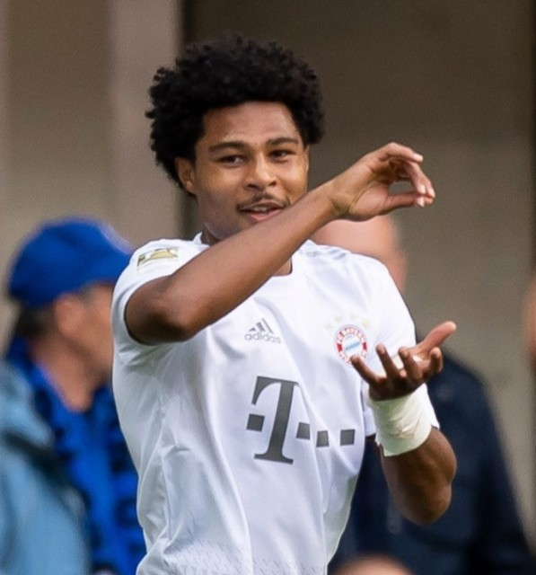 Gnabry has excelled at Bayern Munich and won their player of the year last season