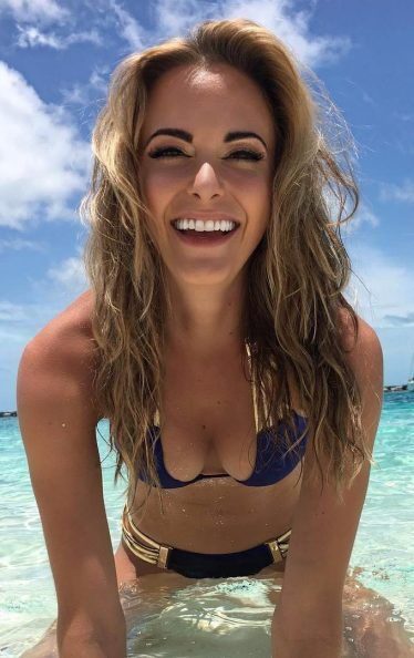 Jena Sims is also a hit on social media with 223K Insta followers